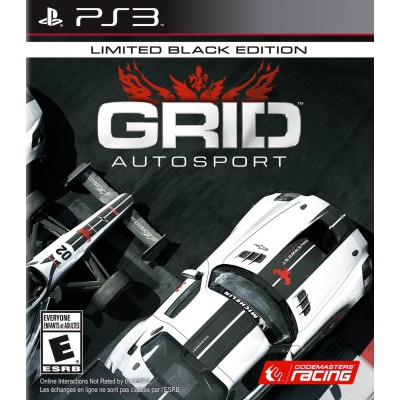 PS3 GRID Autosport Limited Black Edition