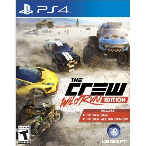 PS4 THE CREW: WILD RUN EDITION