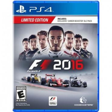 PS4 FORMULA 1 2016