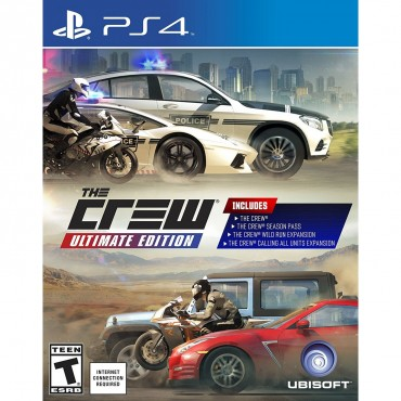 PS4 The Crew: Ultimate Edition