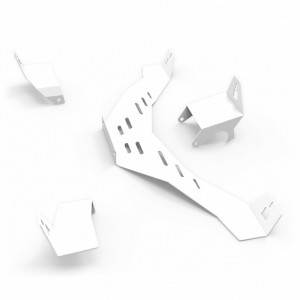 N1 Speakers Mount Upgrade kit - White