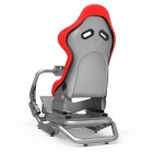 Rseat N1 Red Seat / Silver Frame