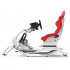 Rseat N1 Red Seat / White Frame