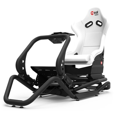 Rseat N1 White Seat / Black Frame