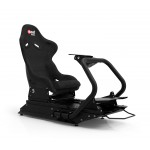 Rseat S1 Alcantara® Seat /Black Frame Racing Simulator Cockpit
