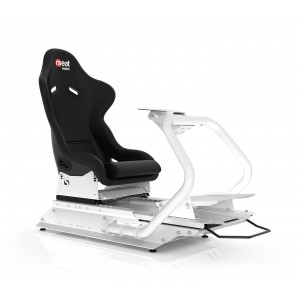Rseat S1 Black Seat / White Frame