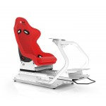 Rseat S1 Red Seat / White Frame