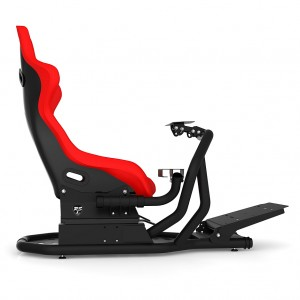 RSEAT RS1 Red Seat /Black Frame Racing Simulator Cockpit